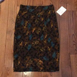 LuLaRoe Brown Skirt